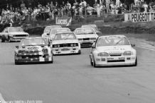 "Vauxhall Carlton Opel Manta & others Thundersaloon Brands Hatch 1987 10x7"" photo"